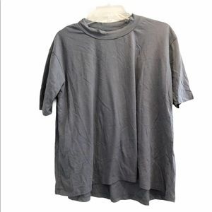 The Limited cotton gathered shirt Short tee top